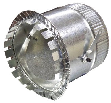 Takeoff 1 2 Quot Flange W Damper Snappy Co